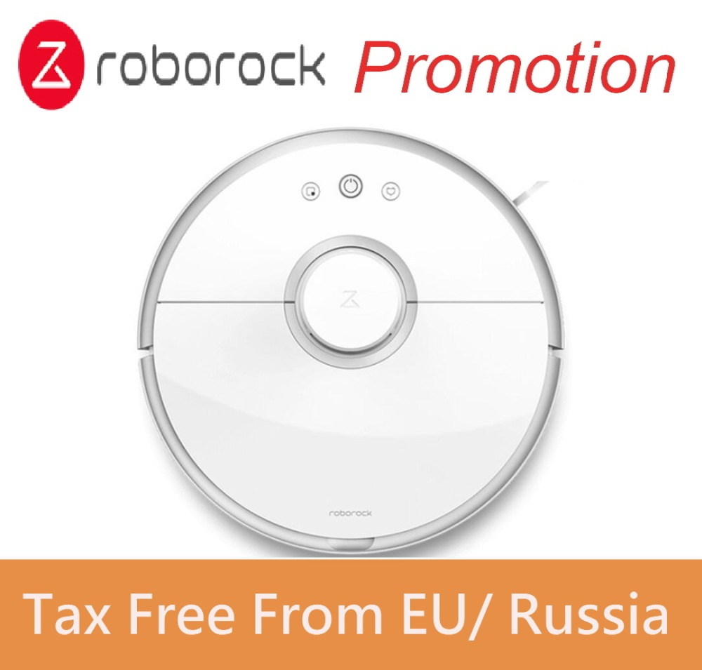 New Original Roborock S50 Xiaomi Robot Vacuum Cleaner 2 Smart Planned Cleaning for Home Office Sweep Wet Mop App Control number