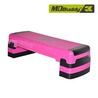 Несущая 250 кг Multifunction adjustable Aerobics плата шагового двигателя шаг тренер домашний Бодибилдинг тренажер для фитнеса