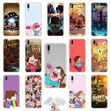 644d60385ac Gravity Falls TPU Cover Phone Cases Soft For Huawei P 20 pro P10 Plus P9 P8