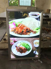 LED light box sign menu display for shops takeaways restaurants illuminated
