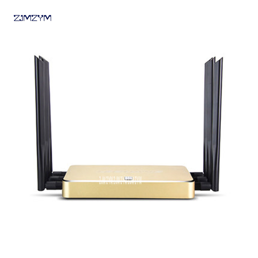 D600 1200Mbps Transmission rate 11AC Dual Bnad Gigabit Wireless Router Multi Function Through Wall WiFi Repeater AP Router tp link wireless router 802 11ac ac1750 dual band wireless wifi router 2 4g 5 0g vpn wifi repeater tl wdr7400 app routers