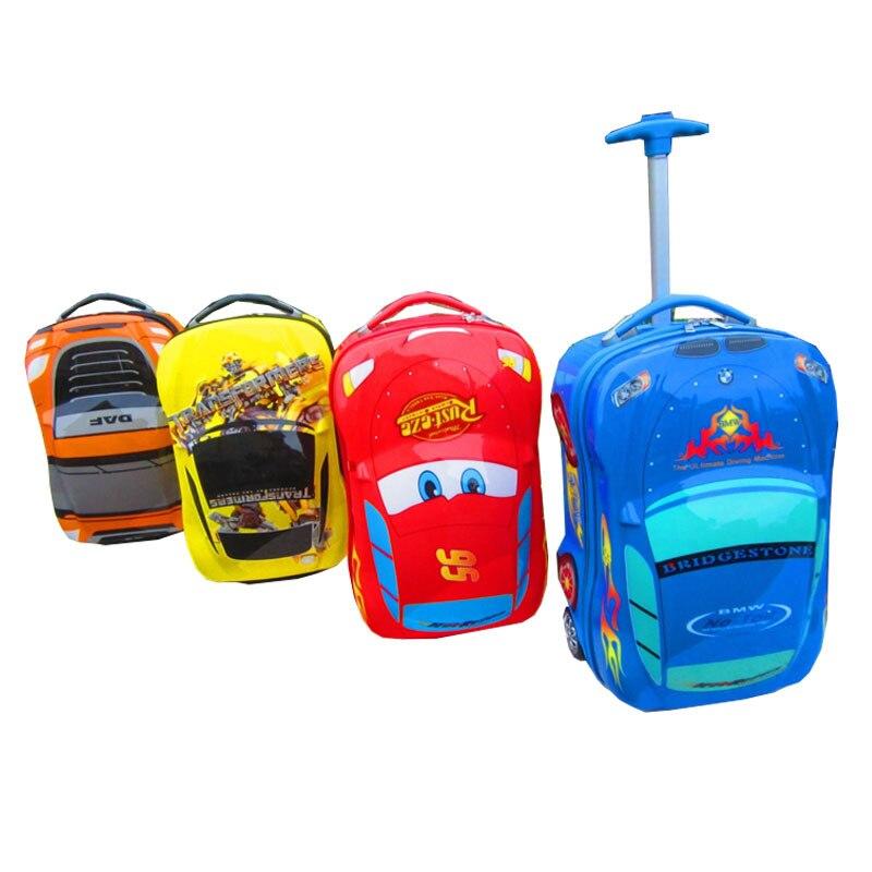 2015 ABS spinner wheel kids luggage child travel trolley bag boys ...