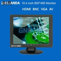 E&MFull New 10.4 inch 800*600 TFT Screen Display With HDMI VGA BNC AV Monitors 4:3 For Pcduino Banana Pi 3 Industrial LCD Module
