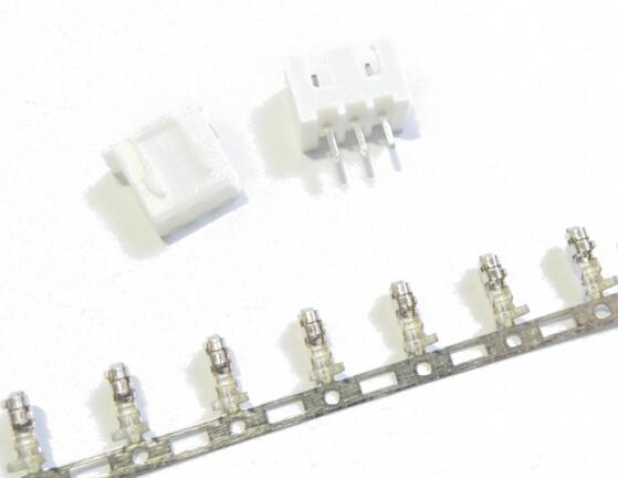 Free Shipping 50 sets 3pin 2.54mm Pitch Terminal / Housing / Pin Header Connector Wire Connectors Adaptor XH-3P Kits