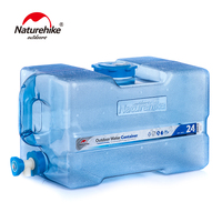 Naturehike BPA Free Water Carrier Water Container Beverage Dispenser Portable Hydration Bucket Picnic Camping 12L 19L 24L
