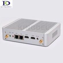 Бесплатная доставка 2016 новые безвентиляторный мини-ПК компьютер четырехъядерных процессоров intel celeron N3150 Процессор 2 г Оперативная память 64 г SSD 2 * HDMI Win 7/8/10 OS