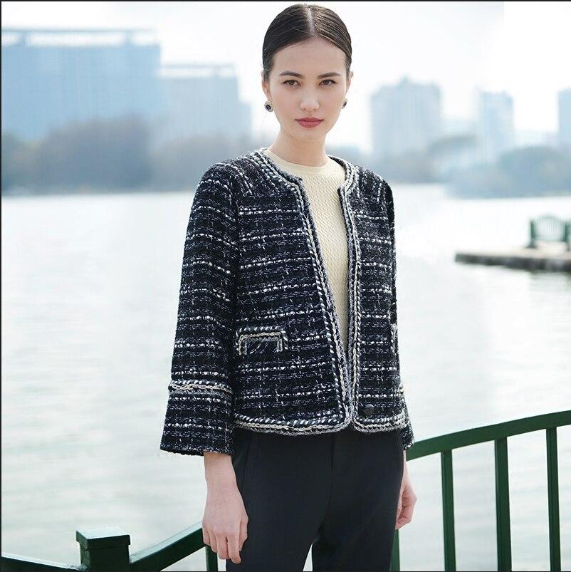 Aliexpress.com : Buy Tweed jacket new spring 2017 women's commuter ...