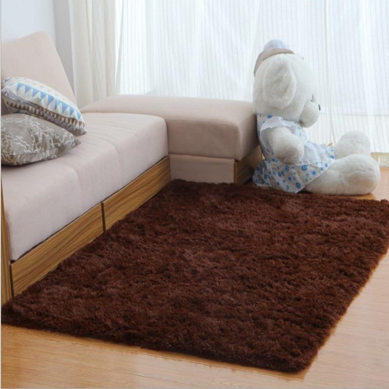 Long Plush Slip Resistant Soft Mat For Room Large Shaggy