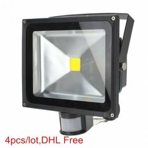 6pcs/lot,Sensor LED Flood Ligh