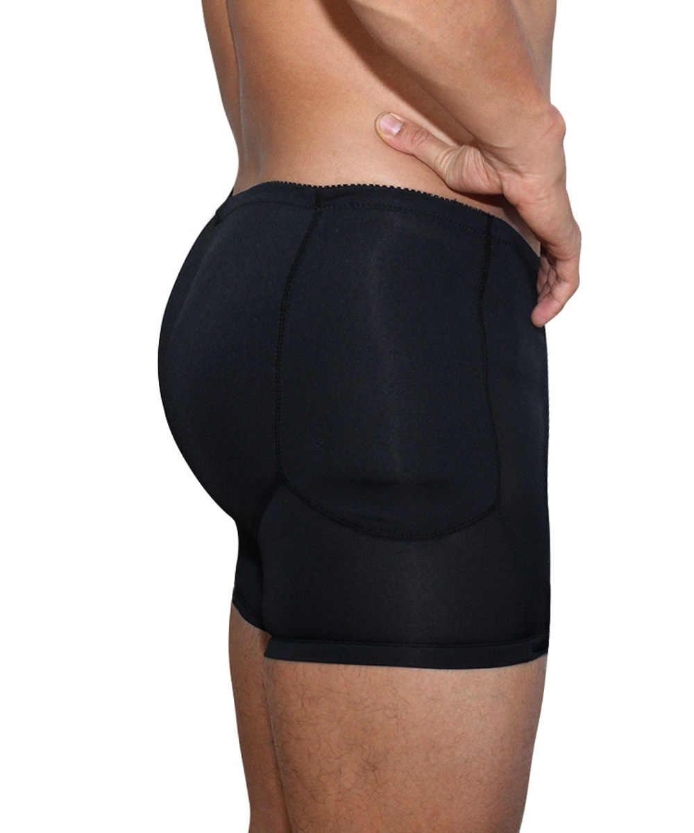 05a0c0e9799 ... Men's padded Butt Lifter Control Panties 2019 Body Shapers Underwear  hot Waist Slimming Shapewear Panty Tummy ...