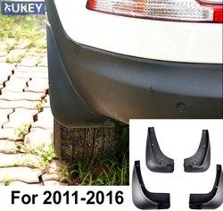 Flaps de lama do carro moldado para kia sportage 2011 2012 2013 2014 2015 2016 mudflaps respingo guardas lama aleta fender frente traseira