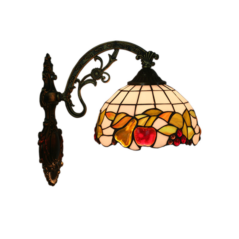 LukLoy Retro Balcony Stairs Aisle Sconce Tiffany Corridor Wall Lamp Mediterranean Hotel Room Beside Pastoral Vintage Wall LightLukLoy Retro Balcony Stairs Aisle Sconce Tiffany Corridor Wall Lamp Mediterranean Hotel Room Beside Pastoral Vintage Wall Light