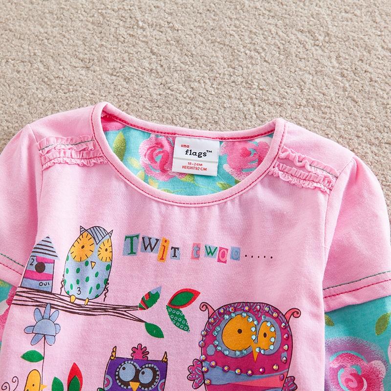 HTB1Hng4dm7PL1JjSZFHq6AciXXaB - Girls Long Sleeve All Year T-Shirt, Long Sleeve, Cotton, Various Designs and Prints