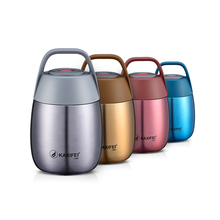 цена на Stainless Steel Vacuum Stew Pot Smoldering Insulation Portable Beaker Lunch Boxes Bucket Porridge Soup Box