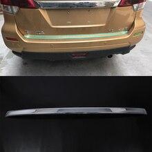 ABS Chrome Car Exterior rear bar moulding Cover Trim For Nissan 2018 TERRA