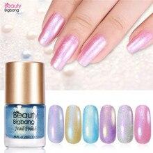 BeautyBigBang 8ML Shell Pearl Nail Polish Mermaid Art Lacquer Varnish Manicure Tips Color Shiny