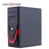 LOGIC POWER Desktop Computer Case New Arrivals 80mm FAN CD ROMx2 HDDx8 FDDx1 PCIx7 USBx2
