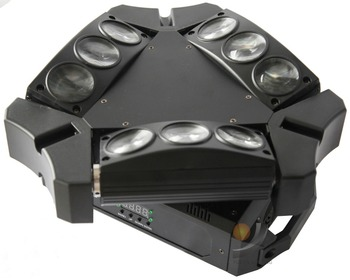 9x12 W mini Led araignée lumière mobile pour fête lumière DJ disco mariage