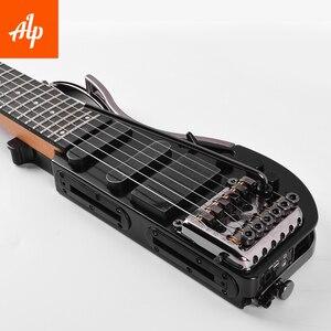 Image 4 - Alp ヘッドレス旅行エレキギター特別な AD121 トレモロ旅行ギターポータブルギター