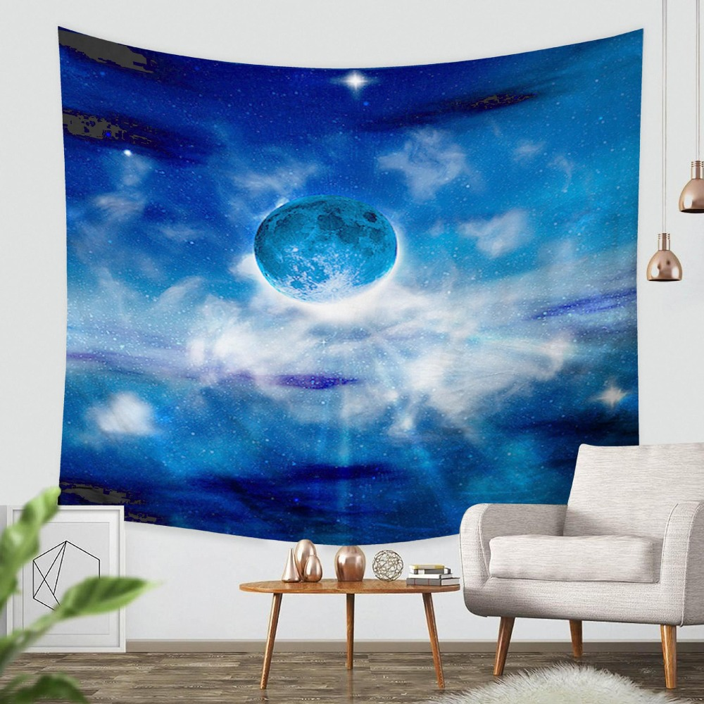Galaxy Hanging Wall Tapestry  Retro Home Decor Yoga Beach Towel