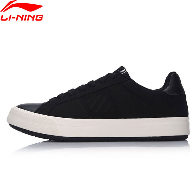Li-Ning Men Sports Life Series Walking Shoes Anti-Slippery LiNing Sports Shoes Wearable Sneakers GLKM091