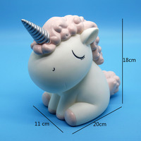 Unicorn Money Boxes Cute Nordic Style Children 's Room Decoration Birthday Gift Bank Coin Box home decoration accessories WZL001