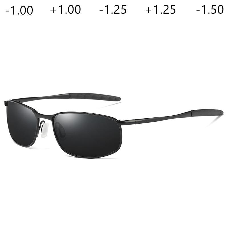 Gafas de sol graduadas para hombre, gafas de sol, corrector progresivo, gafas de sol con prescripción óptica, miopía, astigmatismo UV