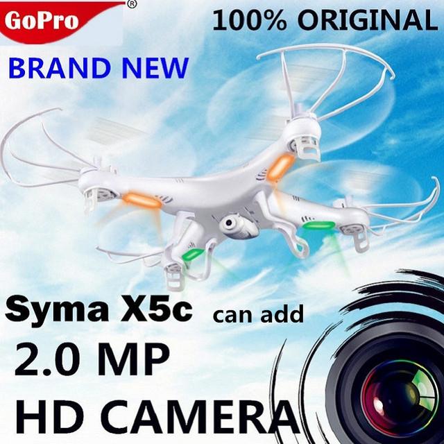 Original SYMA X5C X5C-12.4G Atualização 2.4G 4CH 6-Axis RC dron Helicóptero drones com Câmera hd RC Quadrocopter Zangão com câmera