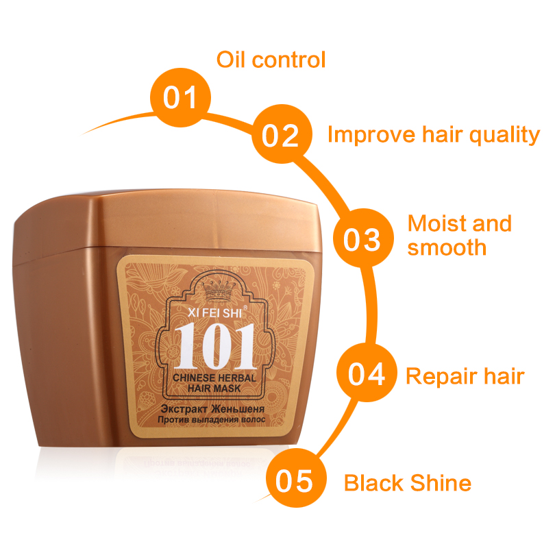 2016New Arrival Hair Care Conditioner Dry Hair Repair Moisturizing 101 Universal Hair Mask With Ginseng Root For Treatment KF034