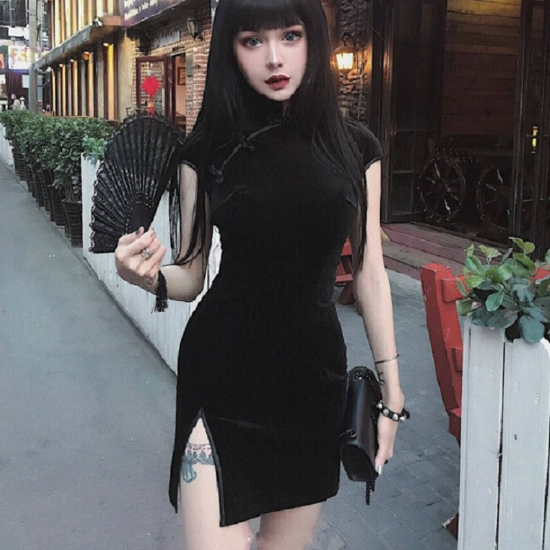 Top 10 Most Popular Sexy Black Short Dress List And Get Free Shipping 7l3h1n00