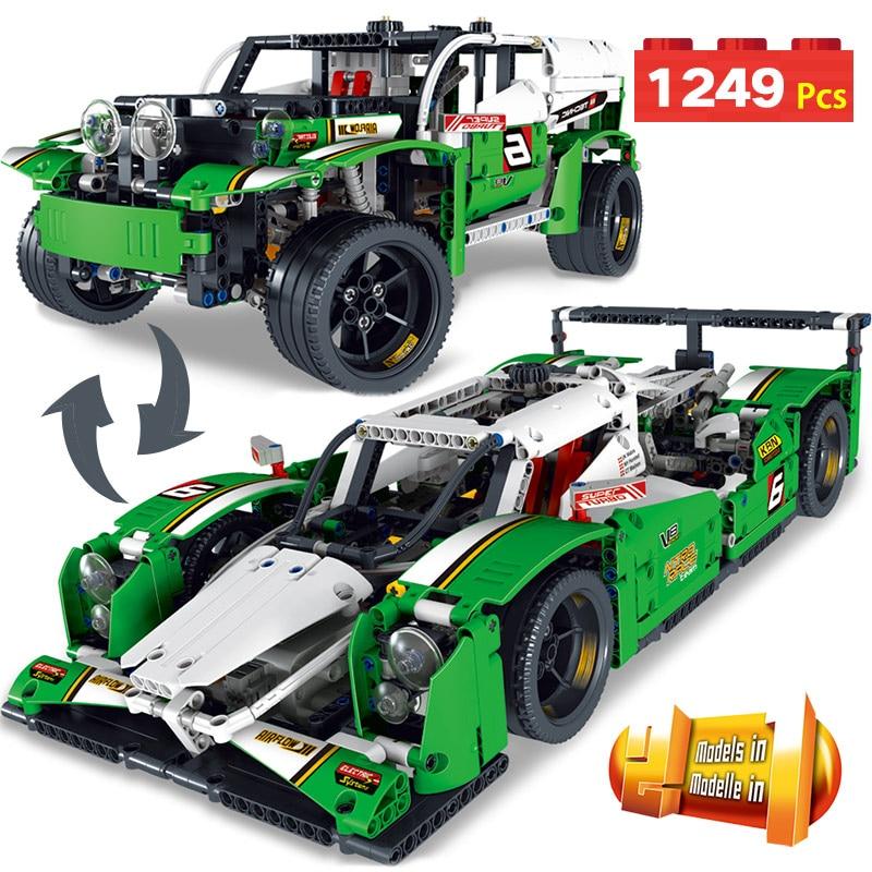 Technic Series Formula Racing Control Building Blocks LegoINGlys Simulation Car DIY toy Compatible Educational Toy for Kids technic series remote control formula