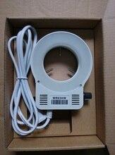 Ring Lights LED White Light Inner Diameter 58mm Microscope Light Source Single Barrel Lens Diffuse Lamp Adjustable Brightness