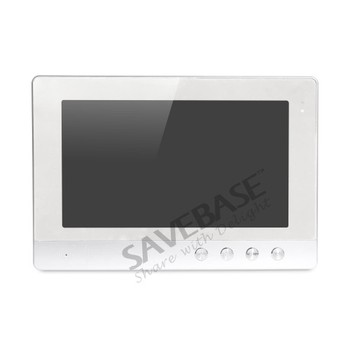 HOMSECUR 10,1 Pulgadas Sistema De Llamadas De Puerta De Vídeo Con Visión Nocturna IR Para Casa/plana: XC002 + XM101-S