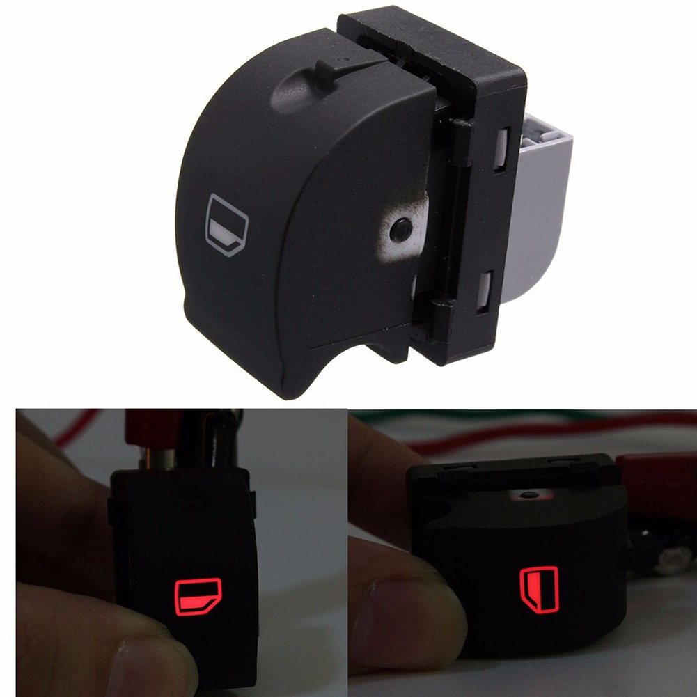 Car Auto Passenger Side Front Right Electric Power Window Lifting Panel Switch Control For Audi A4 B6 03-05 8ED959855