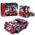 Decool 3360 Lepin Técnica Race Truck ladrillos de construcción bloques Regalo de año Nuevo Juguetes para niños Modelo de Coche Bela 8041