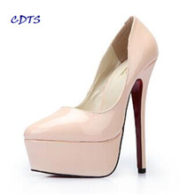 16cm High Heels for Crossdressers Plus sizes EU VS 40-45 46 47 48
