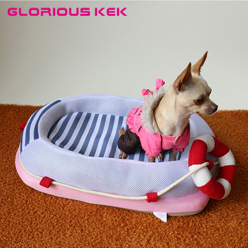 Newest Boat Dog Bed Soft Washable Dog Bed House Cat Sofa Luxury Small Dog Bed Thick PP Cotton Small Pet Bed for Chihuahua Yorkie