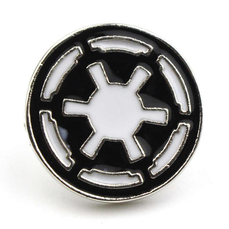 MQCHUN Film di Star Wars Spilla Millenium Falcon Delicato Spilla Per Le Donne Degli Uomini Spille Regalo Gioielli Distintivo-40