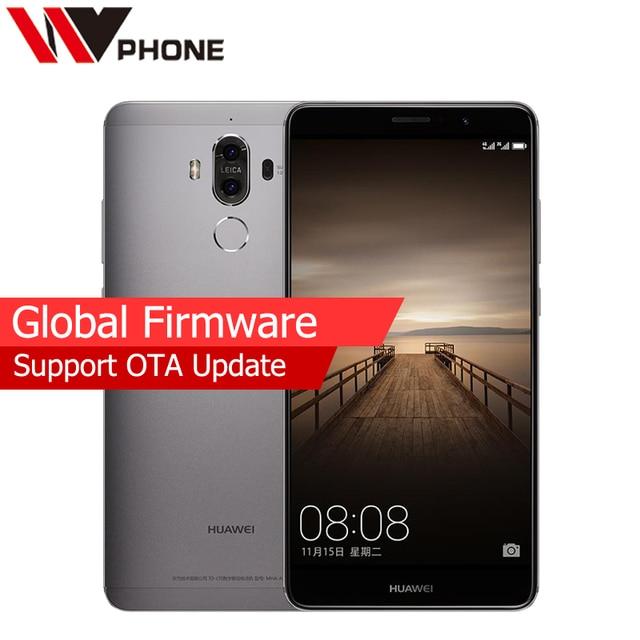 "WV Original Huawei Mate 9 4G LTE Mobile Phone Octa Core 4GB RAM 32GB ROM 5.9"" HD Android 7.0 Fingerprint ID SmartPhone"