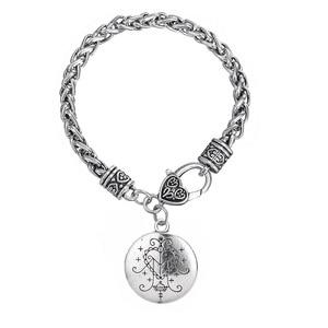 Image 2 - Fishhook Dropshipping  Ezili Freda Voodoo Loa Veve Pendant Vodoun Lwa Love Talisman Jewelry Hoodoo Amulet Fashion Bracelet