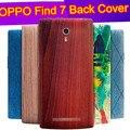 Oppo Find 7 замена батареи задняя крышка Пластиковые Мультфильм Oppo найти 7X9009x9077 крышка случая тонкий назад корпус дверь случае