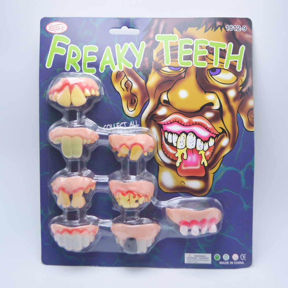 Popular Fake Teeth Halloween-Buy Cheap Fake Teeth Halloween lots ...