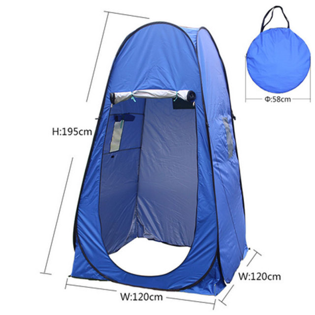 Outdoor Toilet Tent C&ing Changing Shelter Portable Shower Tent Changing Room Outdoor Privacy Tent with Carrying  sc 1 st  AliExpress.com : outdoor toilet tent - memphite.com