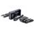 Original soshine h2 cargador de batería inteligente con 2 slot lcd pantalla y cargador de coche para el li-ion 18650 ni-mh aa aaa LiFePO