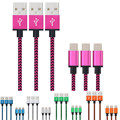 Usb-c 3.1 tipo c macho a usb 2.0 un cable de datos masculino para oneplus 3 tres