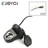 EJOYQI 108X L Thumb Throttle Left hand Bafang For Electric Bicycle Throttle 3pin BAFANG BBS01 BBS02 BBSHD Free shipphing