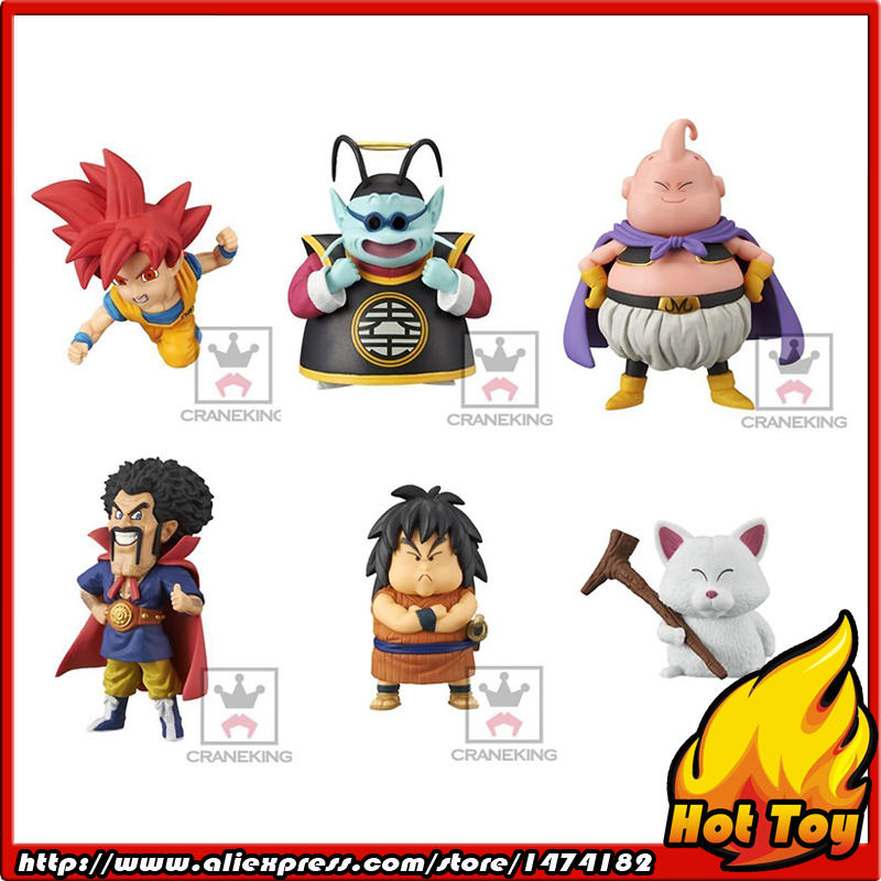100% Original Banpresto WCF Complete Collection Figure  Vol.2 - Full Set of 6 Pieces from Dragon Ball SUPER original banpresto world collectable figure wcf the historical characters vol 3 full set of 6 pieces from dragon ball z