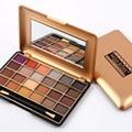 24 Cores Da Sombra de Maquiagem Profissional Paleta de Sombra Bronzer Ouro Nude Matte Shimmer Sombra de Olho Paleta Maquillage