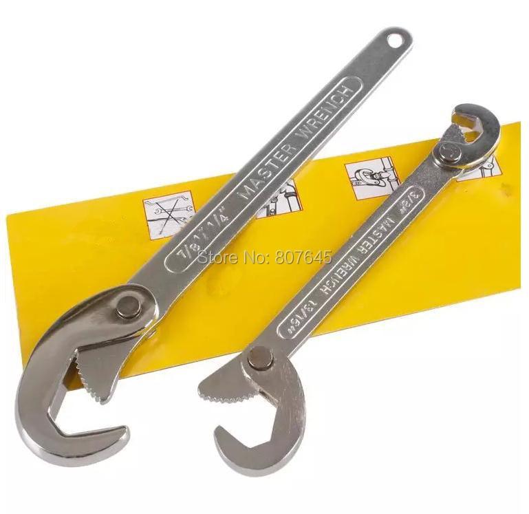 Купить Быстрый универсальный ключ хром-ванадиевой стали универсальным гаечный ключ быстро устранить сантехнические краны дешево