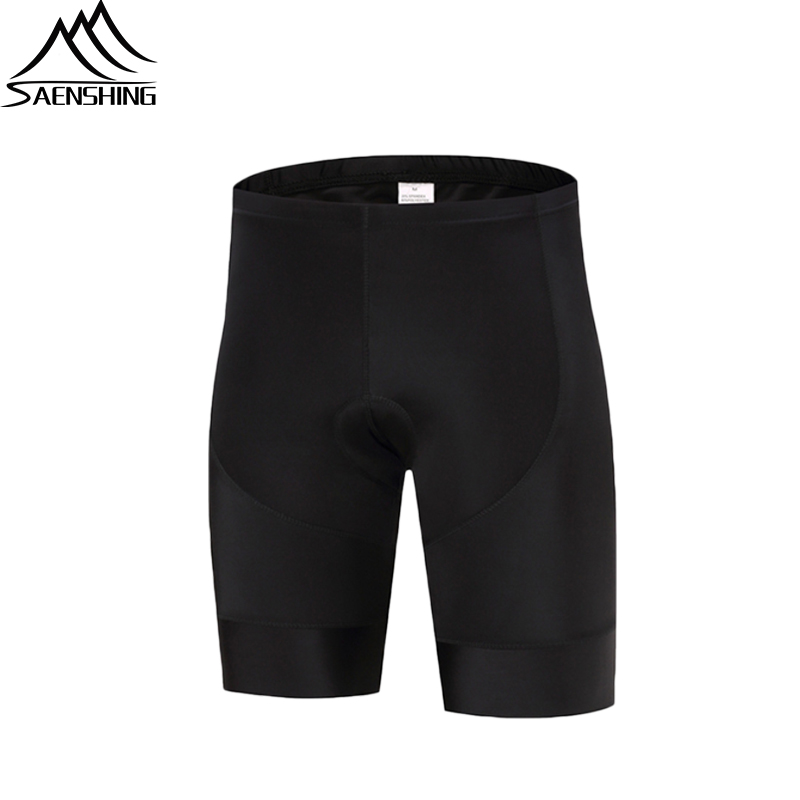 MTB Bicycle Shorts Coolmax 5D Gel Pad Cycling Short Whole Black Classic Shockproof Road Bike Tights Ropa Ciclismo